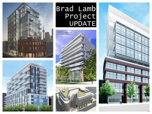 Brad Lamb Condo Projects Toronto