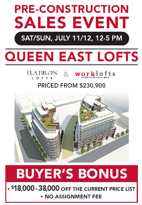 work lofts flat iron lofts pre construction sale brad lamb toronto condo