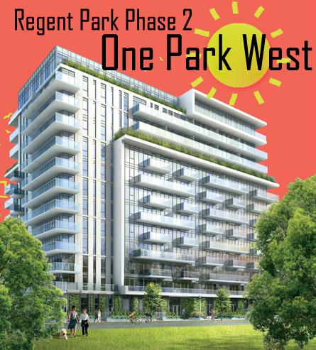 One Park West Condominiums Regent Park