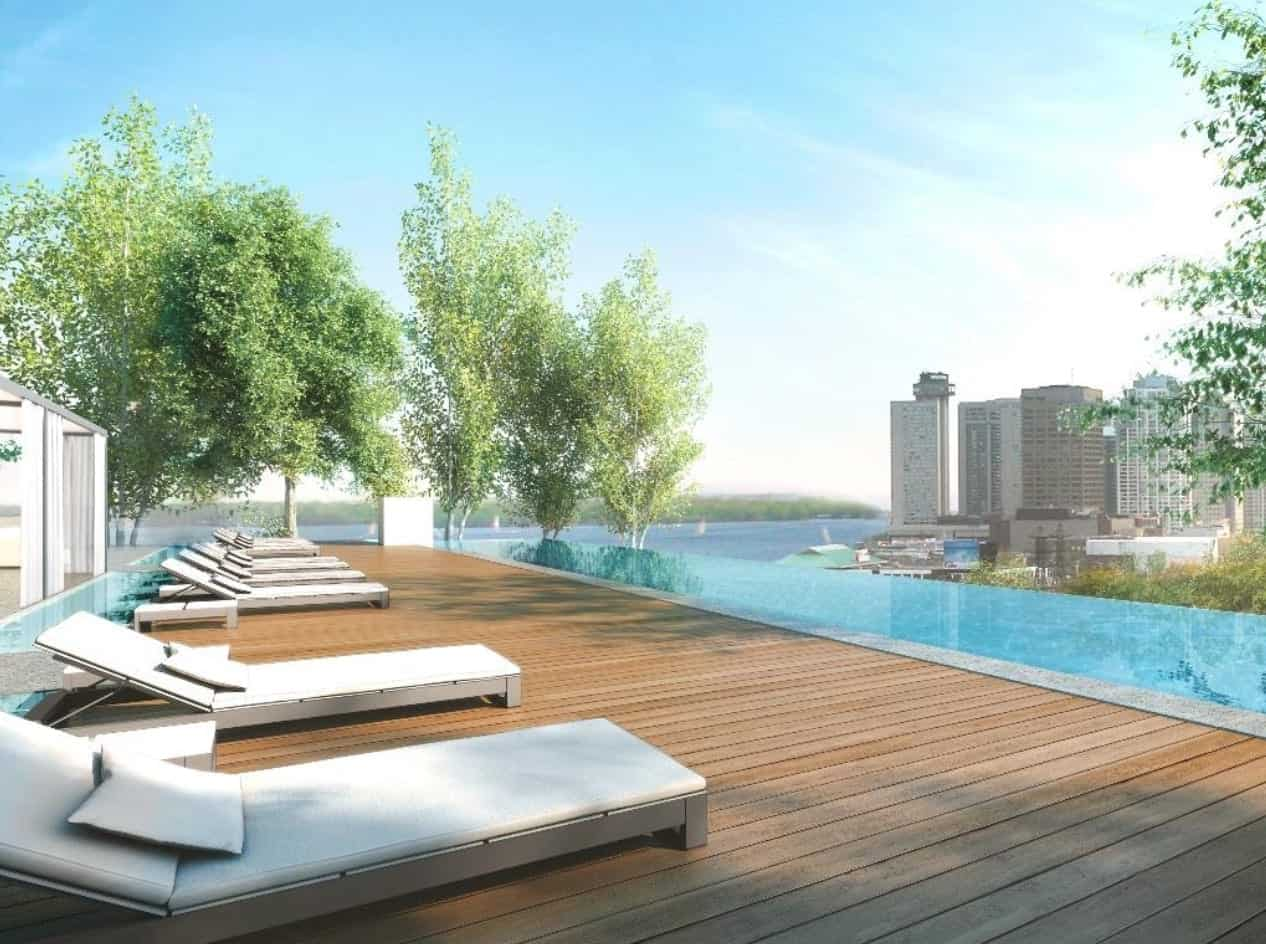 Monde Condos Rooftop Pool True Condos