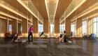 Eau Du Soleil Yoga Room Interior Rendering True Condos