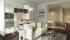 the britt suite kitchen