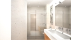 The Sterling Bathroom Rendering Interior True Condos
