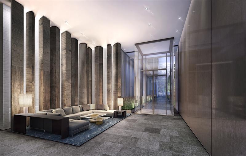 Yonge and Rich Lobby Interior Rendering True Condos