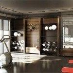 The High Park Condos Fitness Centre Interior Rendering True Condos