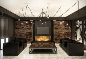 The High Park Condos Lounge Interior Rendering True Condos