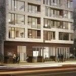 The High Park Condos Street Level Exterior Rendering True Condos