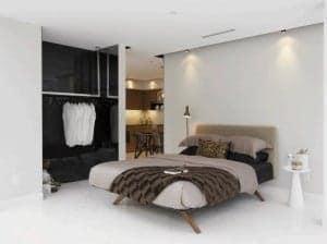 newton condos bedroom