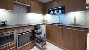 Newton Condos Kitchen Interior Image True Condos