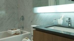 Newton Condos Bathroom Interior Image True Condos