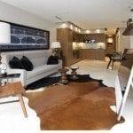 newton condos living room
