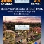 high park condo promotion