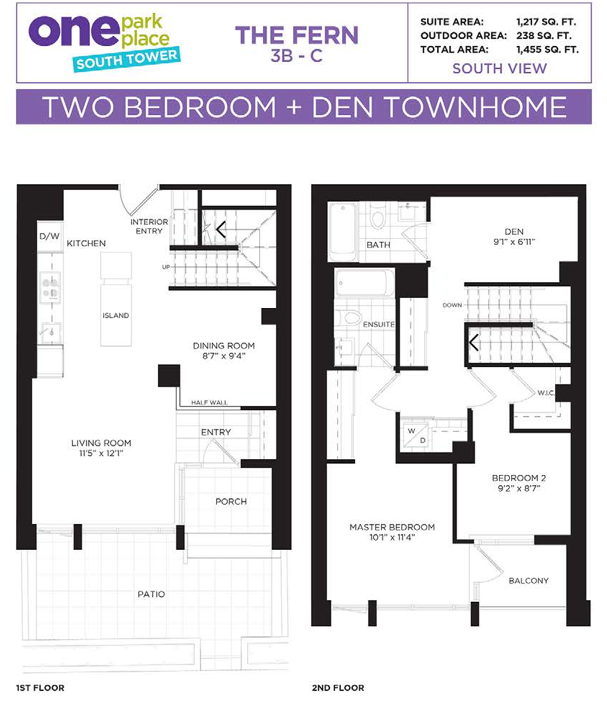 one park place townhome