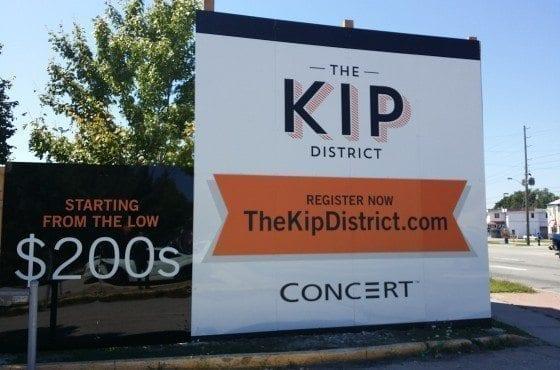 The Kip District Condos True Condos Sign