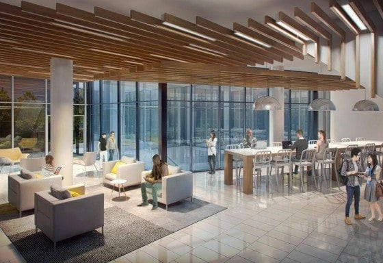 University Suites Lobby Rendering True Condos