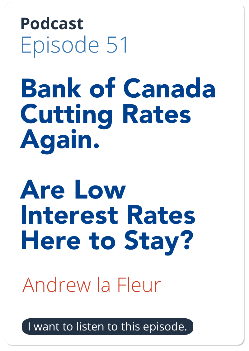 Bank of Canada to lower interest rates on GDP Shocker   18 Trillion reasons why interest rates will stay low (USA)