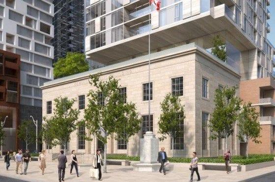 Montgomery Square Image Street Level True Condos