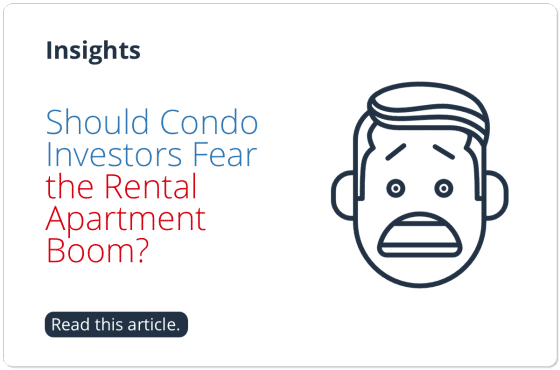 Should Condo Investors Fear the Rental Apartment Boom