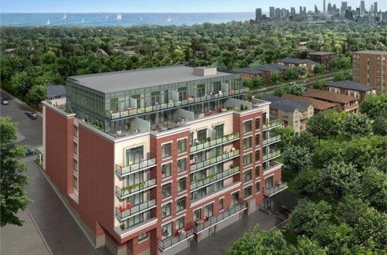The Glen Condos_rear_elevation_2013