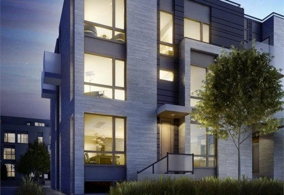 Brockton Commons_great_gulf_florence_street_exterior_rendering