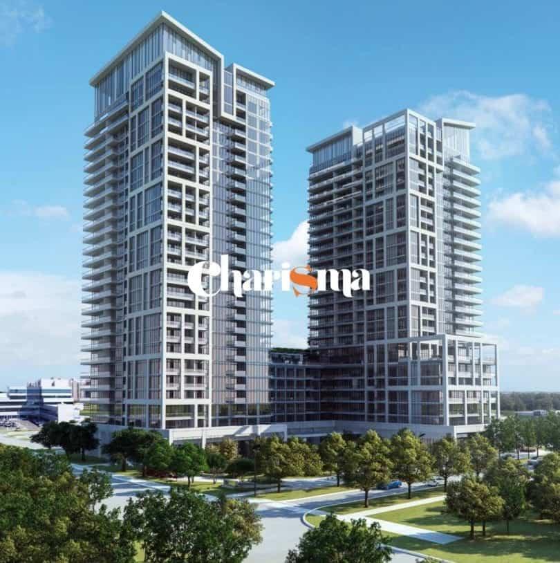 Charisma Condos Building Exterior Rendering True Condos