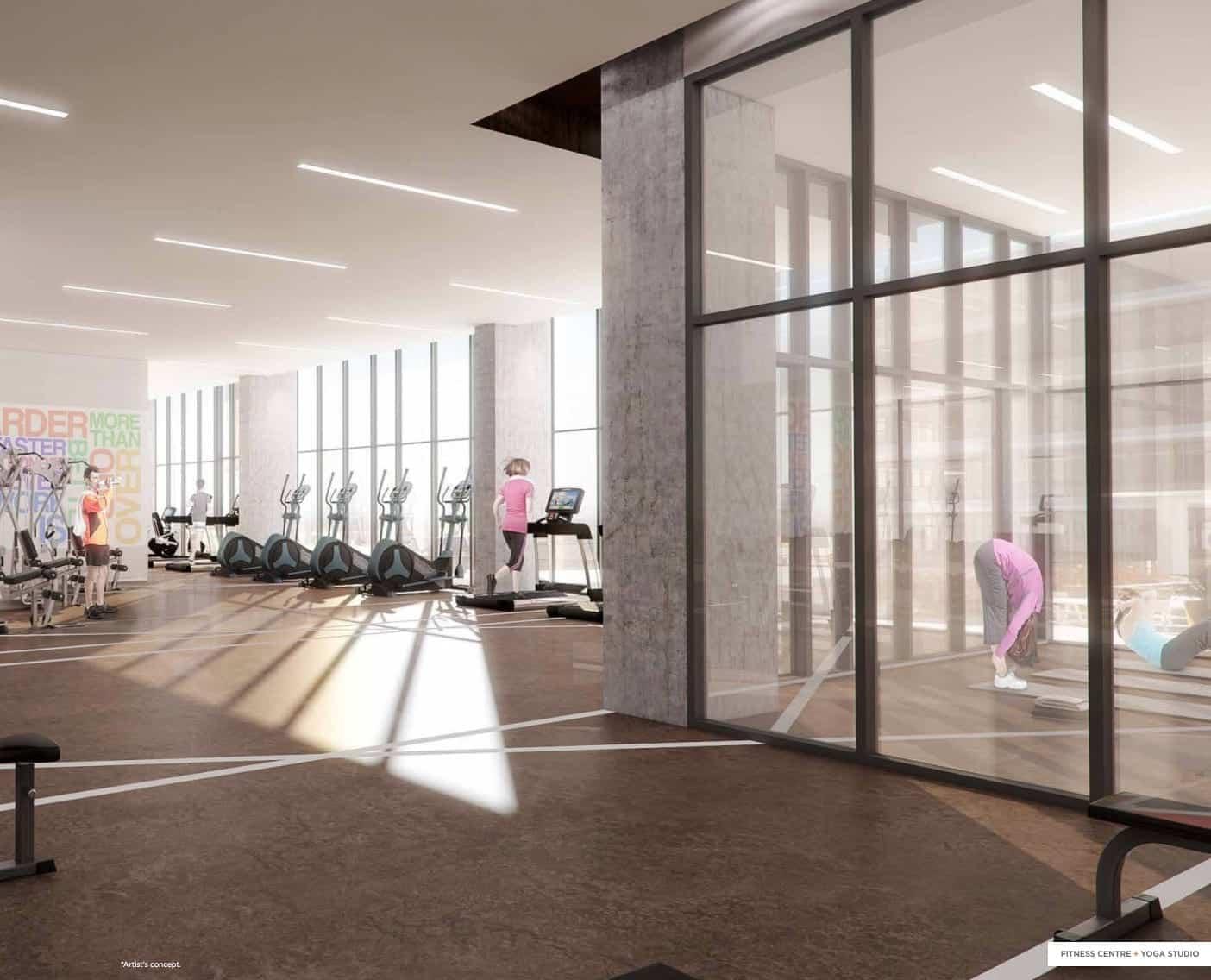 Charisma Condos Fitness Centre True Condos