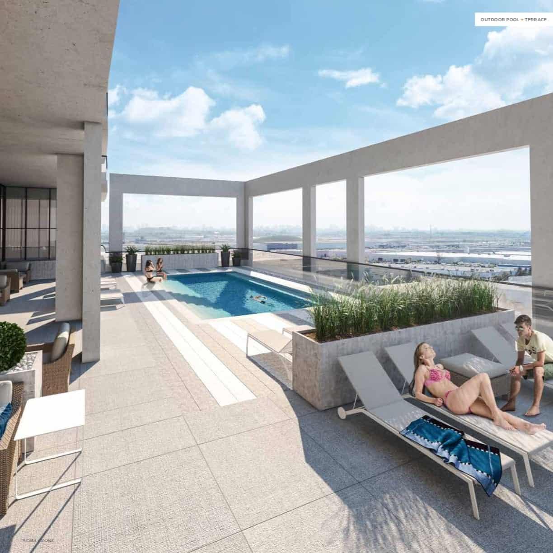 Charisma Condos Rooftop Pool True Condos