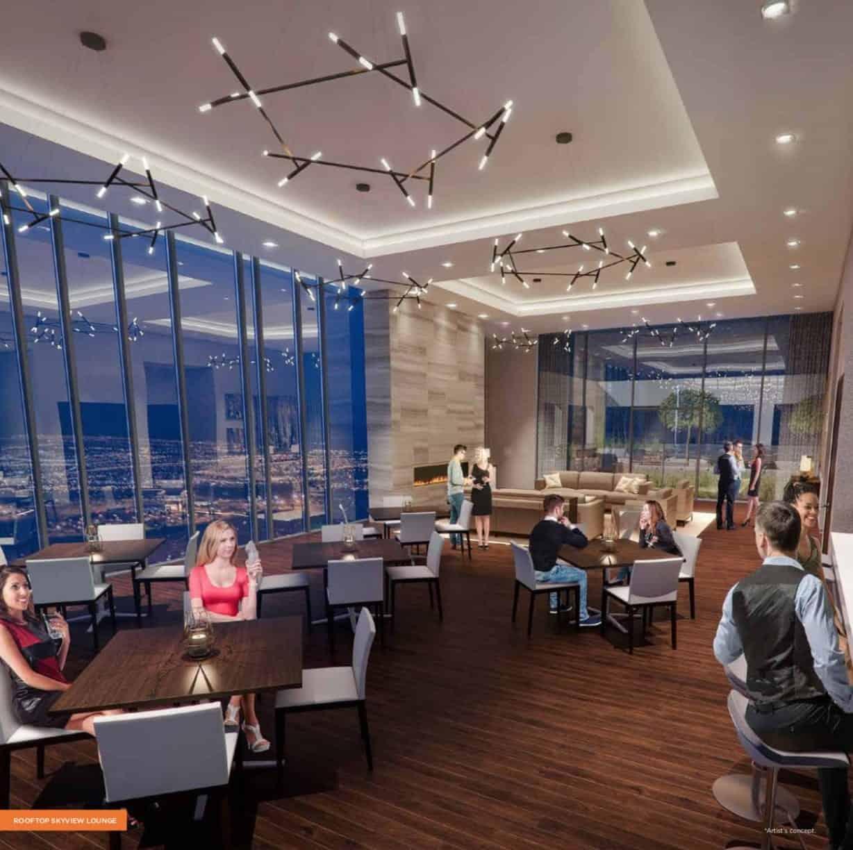 Charisma Condos Rooftop Skyview Lounge True Condos