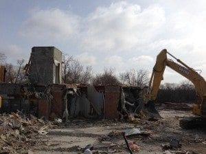 Tao Condos on Bayview_demolition