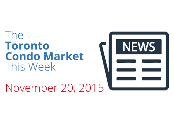 toronto condo market news piece november 20