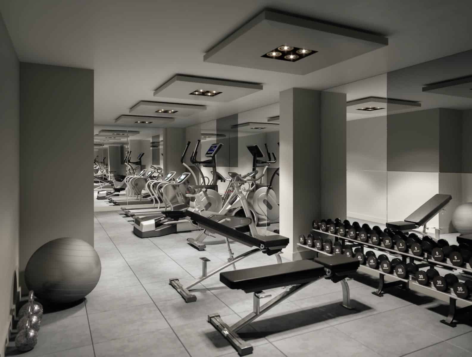Wellington House Condos Gym Fitness