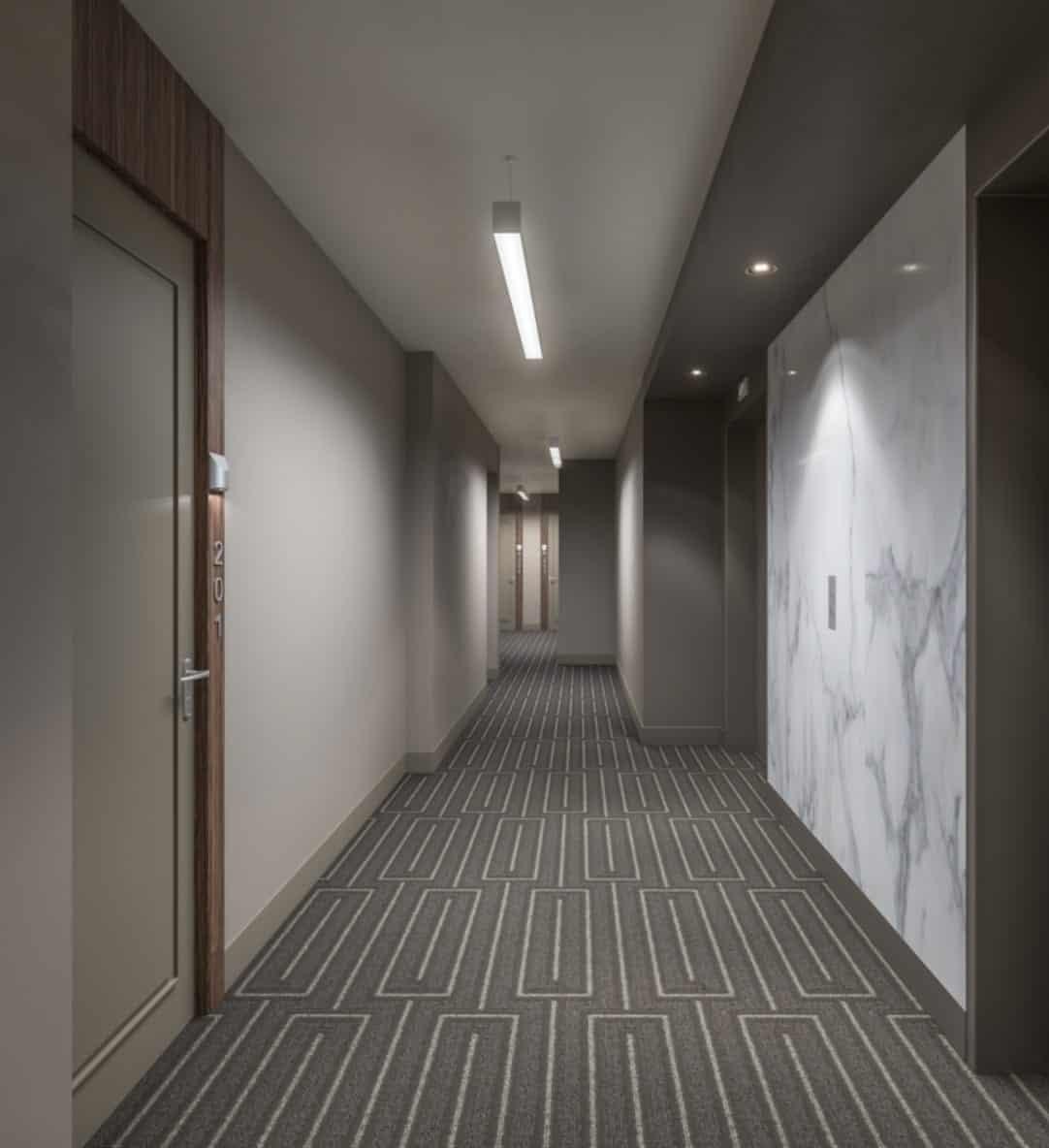 Wellington House Condos Hallway True Condos