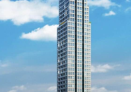 Edge Tower Exterior Building True Condos