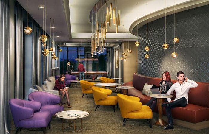 Edge Towers Condos Wifi Lounge Theatre True Condos