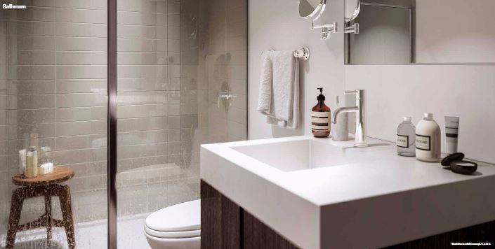 Home Condos at Power and Adelaide Bathroom True Condos
