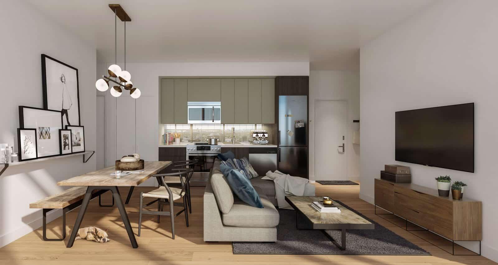 Home Condos at Power and Adelaide Interior True Condos