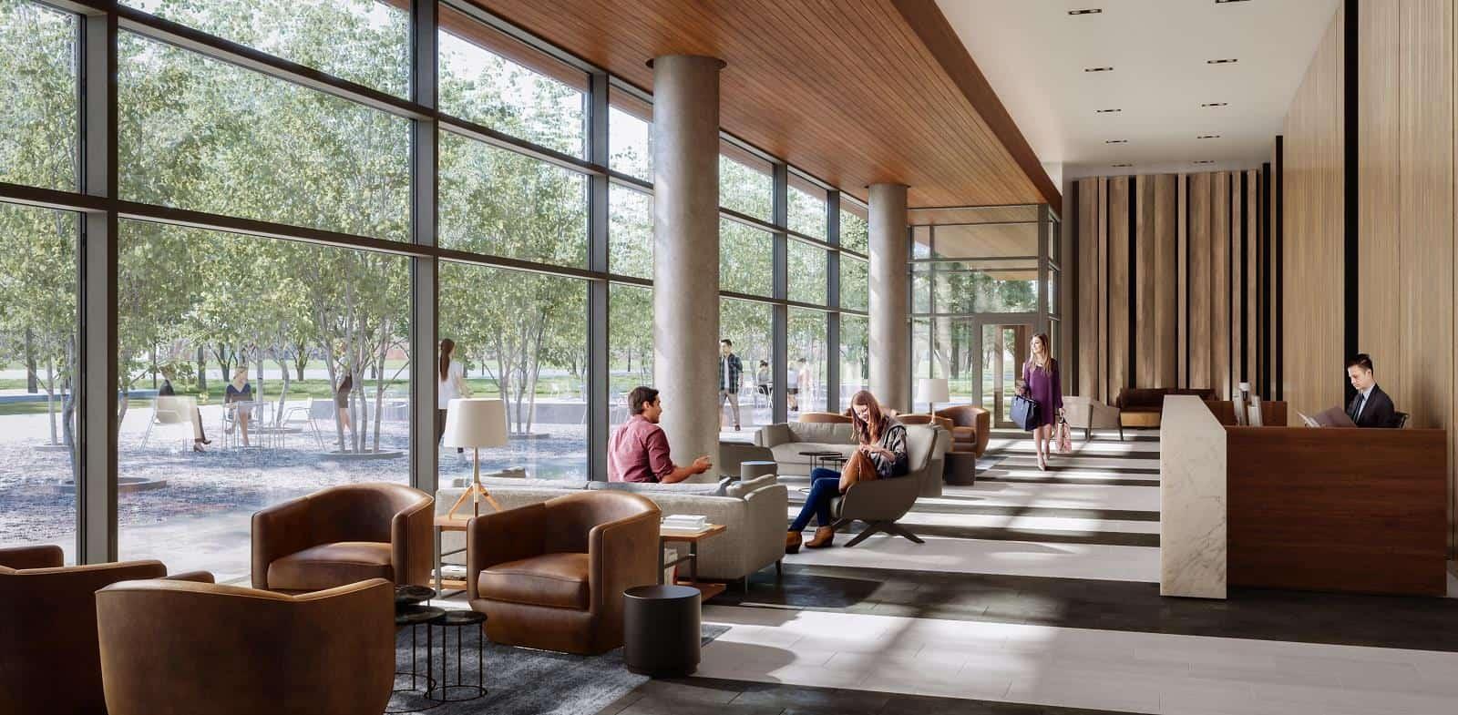Home Condos at Power and Adelaide Lobby True Condos