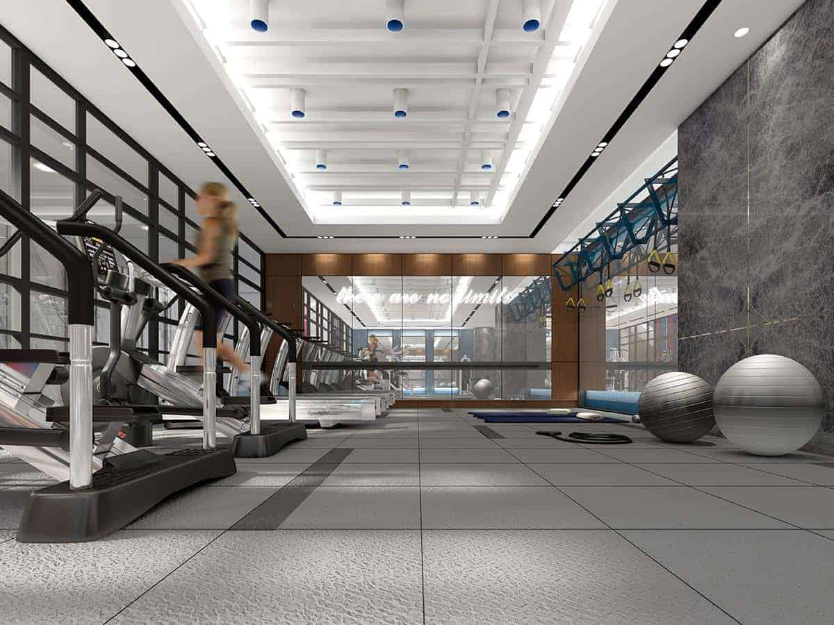 Aquabella Condos Gym True Condos