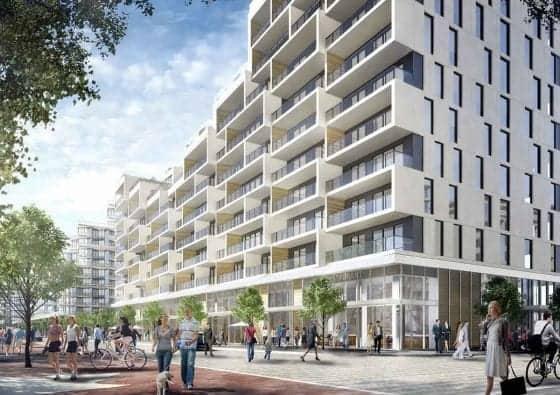 Aquabella Bayside Toronto Building True Condos