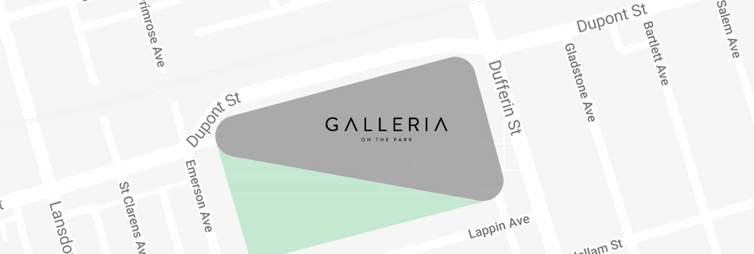 Galleria Mall Condos Location True Condos