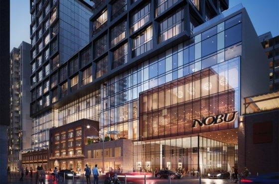 Nobu Residences Toronto Exterior Building True Condos