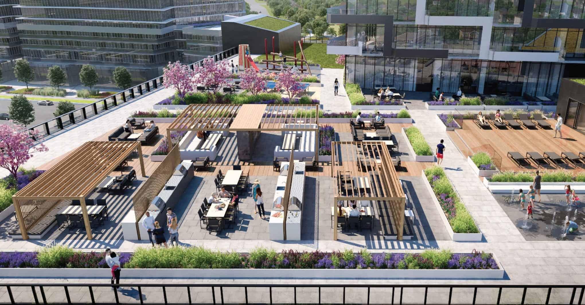 M3 M City Condos MIssissauga Rooftop True Condos