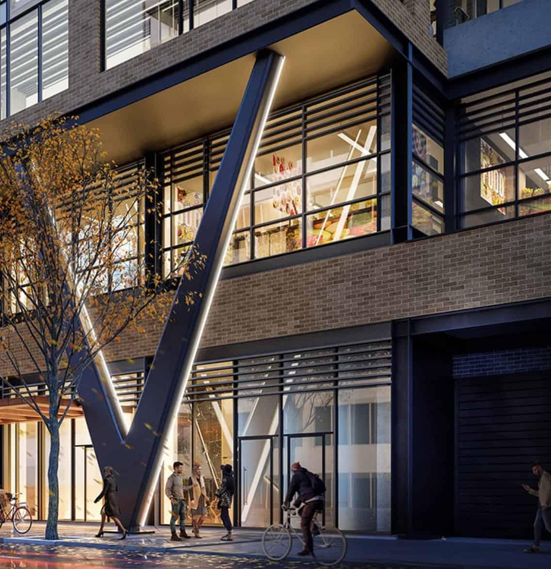 Peter and Adelaide Condos Exterior Building Street Level True Condos