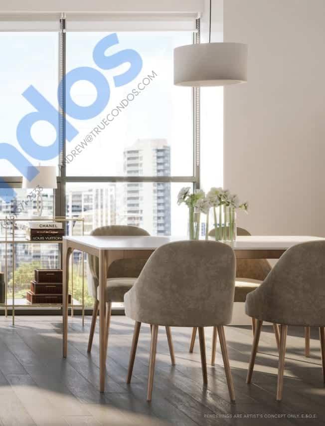 Avia Condos Living Interior Rendering True Condos