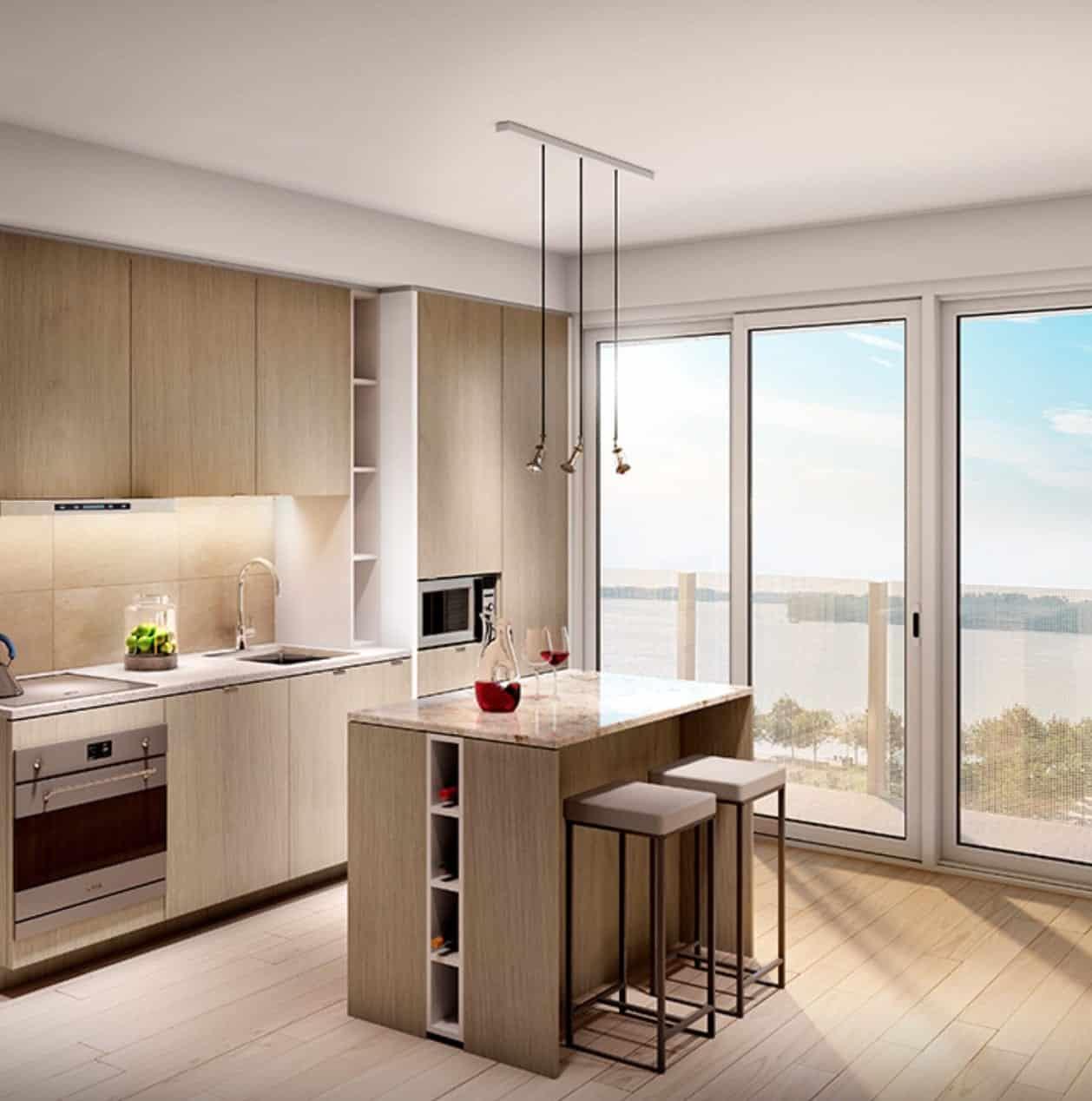 Lakeside Residences Kitchen Interior True Condos