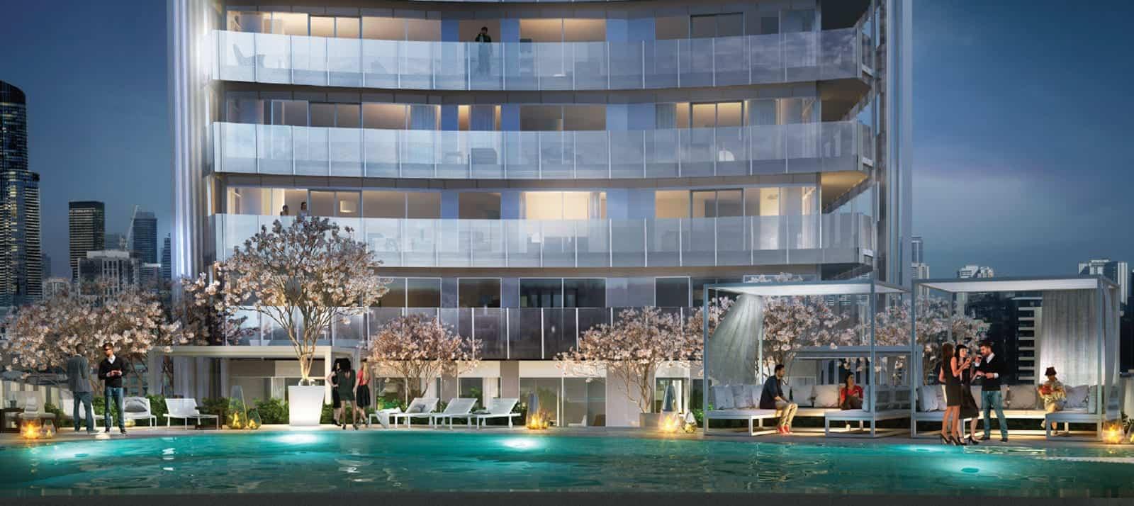 Lakeside Residences Pool True Condos