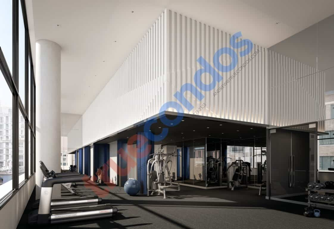 357 King West Fitness Gym Amenities True Condos