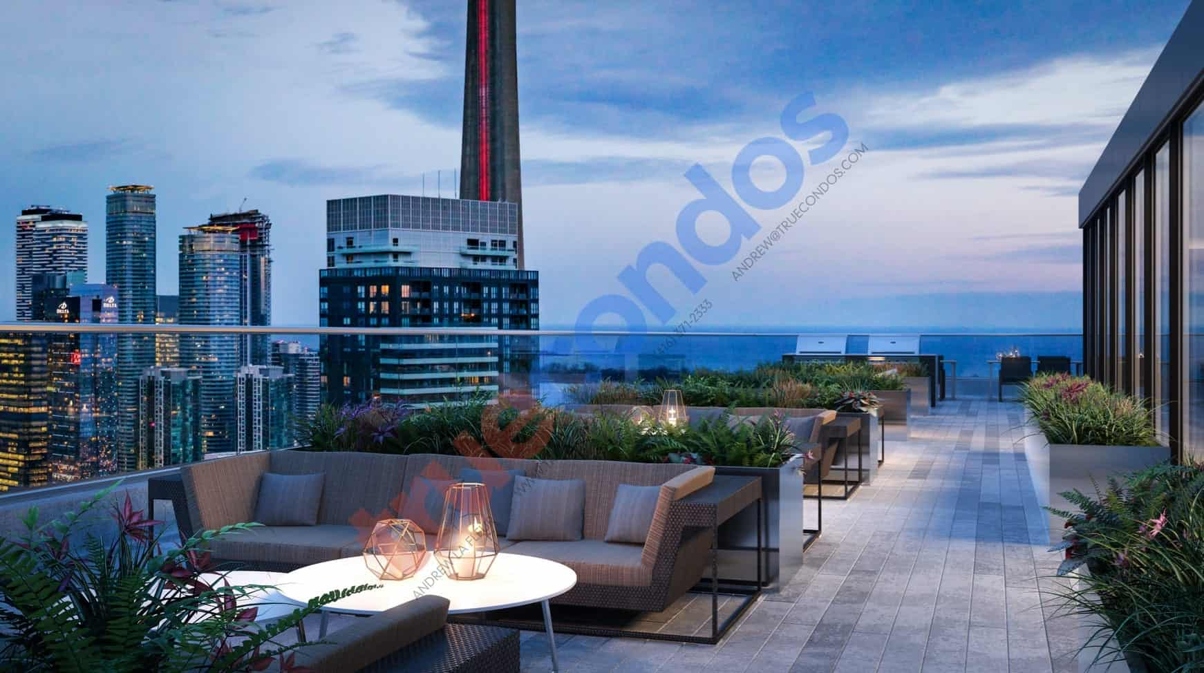 357 King West Rooftop Terrace Amenities True Condos