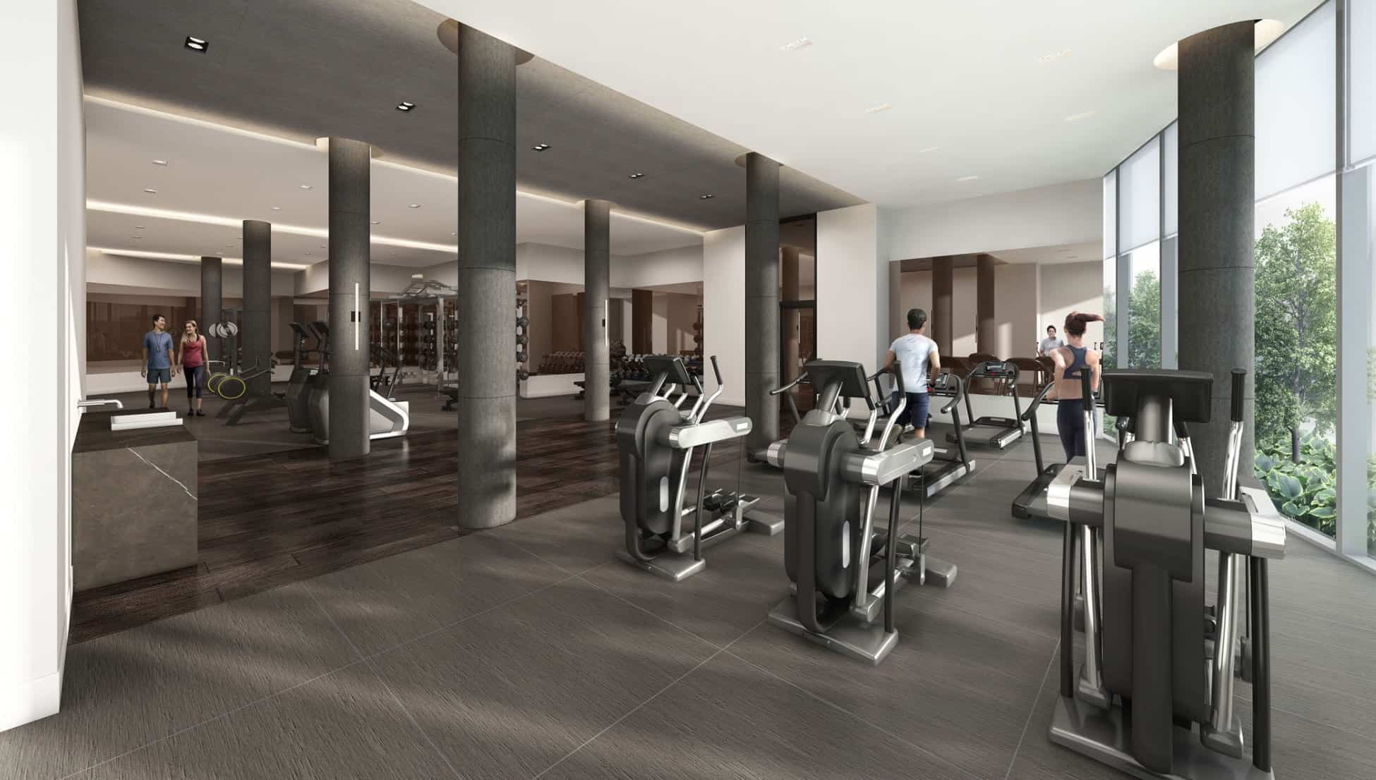 Riverview Condos Fitness Gym True Condos