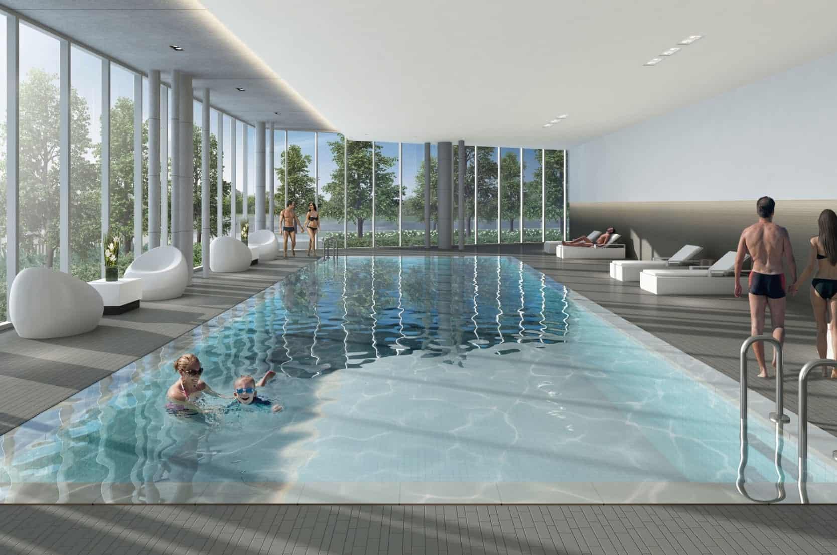 Riverview Condos Pool True Condos